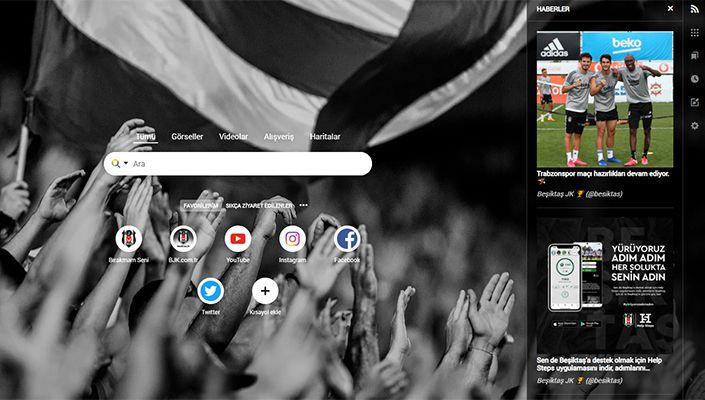 Beşiktaş JK Chrome Uygulamasını İndir, Kulübümüze Destek Ol!