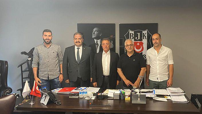 Siirt İl Özel İdaresi Spor Kulübü Başkanı Hıfzullah Canpolat'tan Kulübümüze Ziyaret
